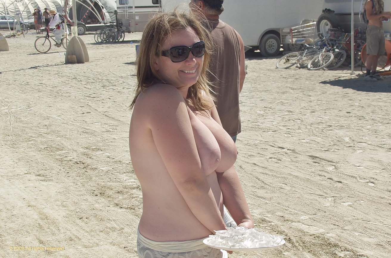 naked people at burning man agreeable