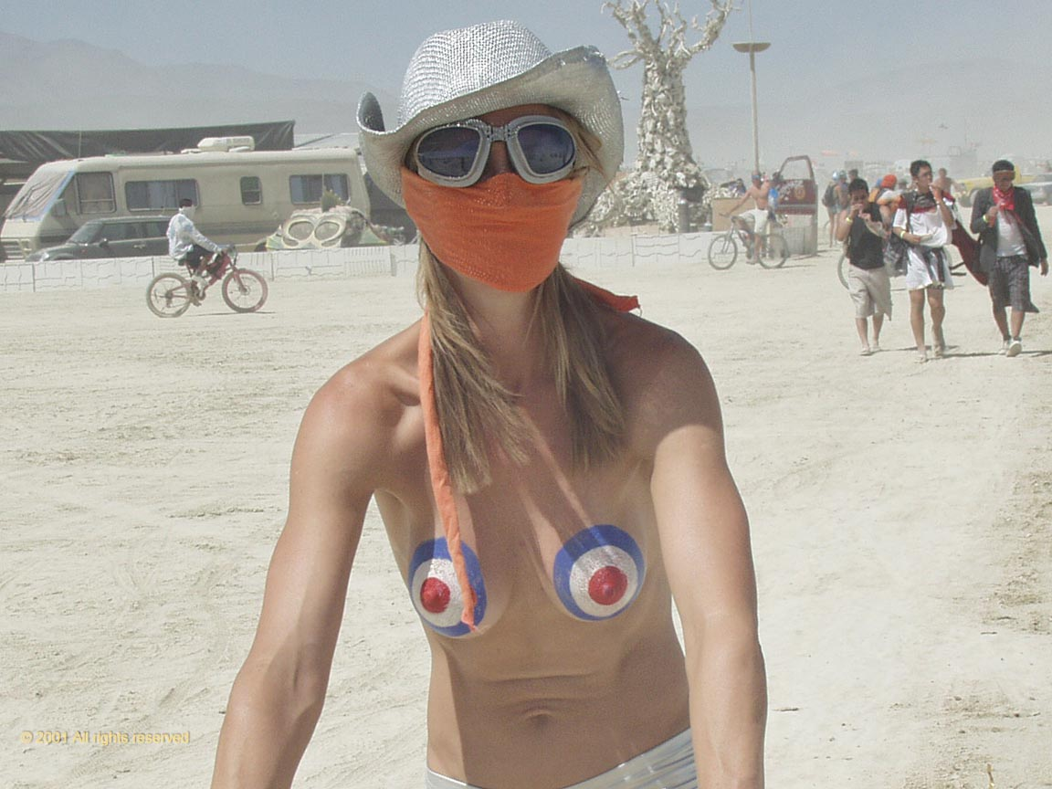 naked people at burning man down